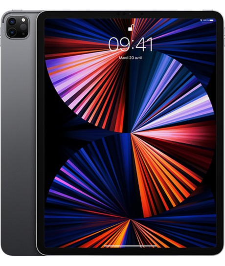 Apple iPad Pro 12.9 2021 WiFi gris sidéral 256Go