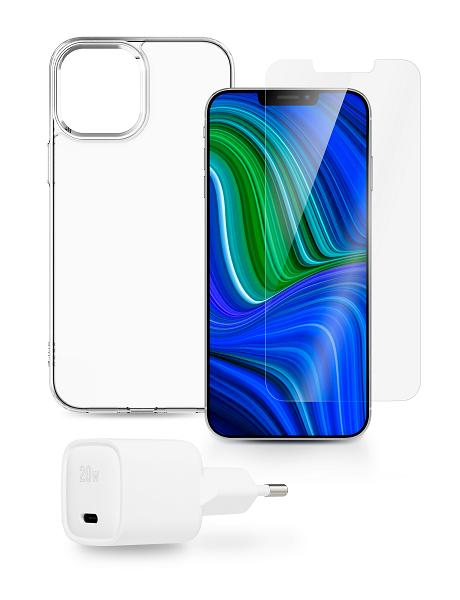 Starter Pack iPhone 12/ 12 Pro blanc