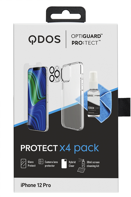 Protect Pack iPhone 12 Pro blanc