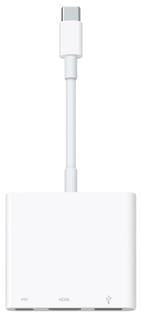 Adaptateur multiport AV numérique USB-C Apple blanc