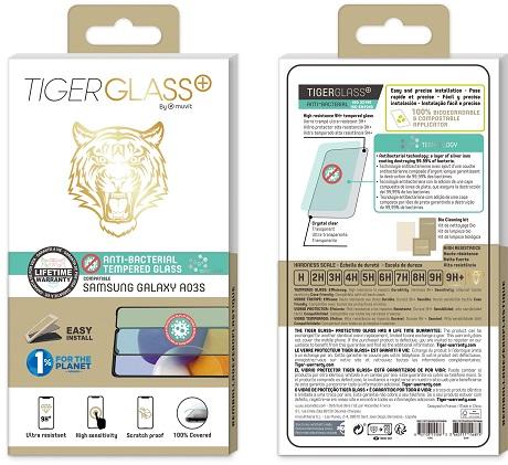 Film Tiger Glass+ Samsung Galaxy A03s transparente