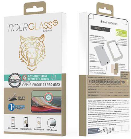 Film Tiger Glass+ iPhone 13Pro Max transparente