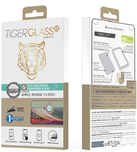 Film Tiger Glass+ iPhone 13 mini transparente
