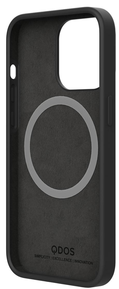 Coque Touch Pure compatible Magsafe iPhone 13 Pro noir