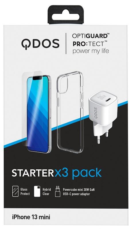Starter Pack iPhone 13 mini transparente
