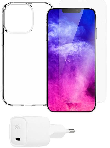 Starter Pack iPhone 13 Pro Max transparente