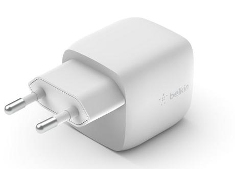 Tête de charge rapide USB-C Belkin 30W blanc