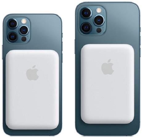 Batterie externe MagSafe blanc