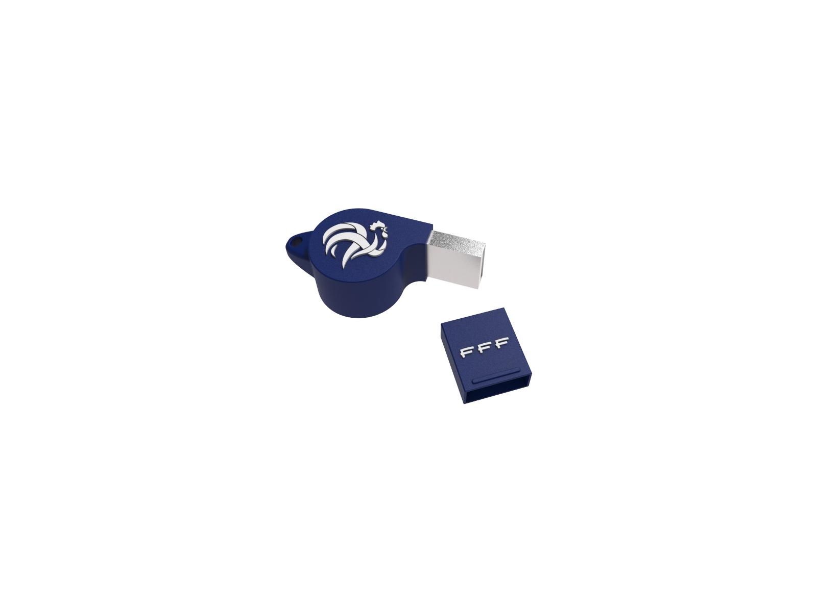 Clé USB 8Go FFF Euro 2016 SIFFLET