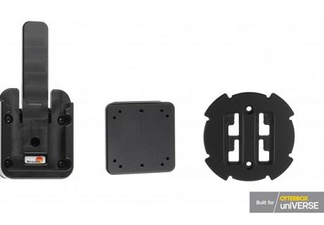 Système d'attache rapide pour support auto Brodit noir
