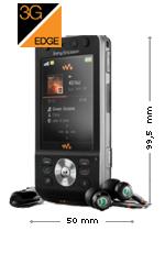 Sony Ericsson W910i Noir