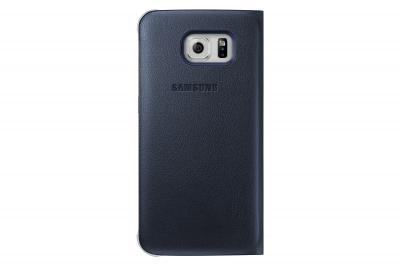 Etui wallet Galaxy S6 Edge noir