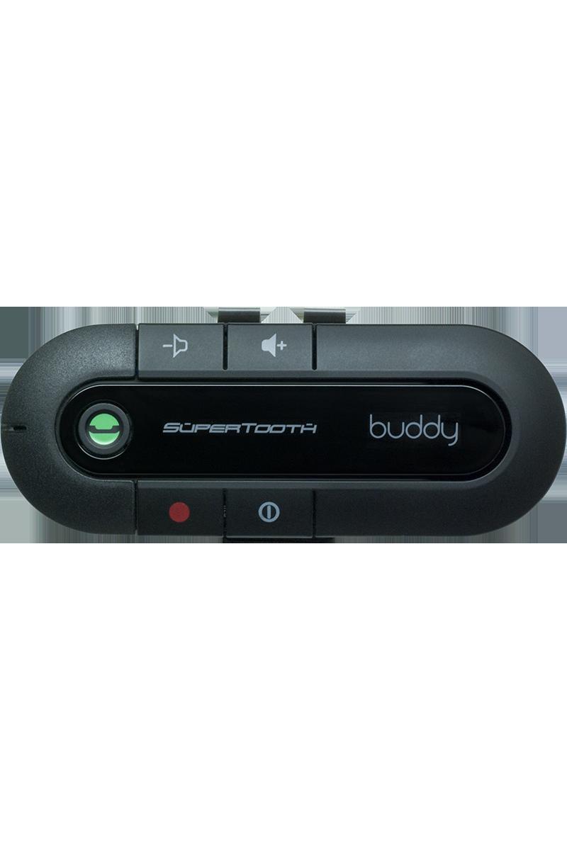 Kit mains-libres Bluetooth stéréo Supertooth Buddy noir