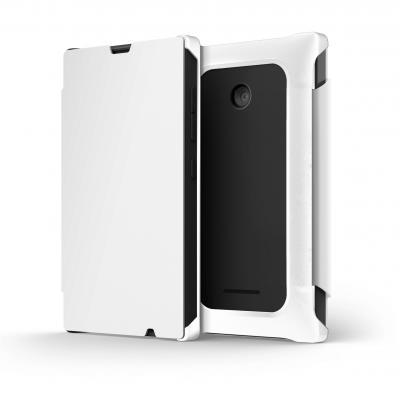 Folio Mozo Nokia 435 blanc