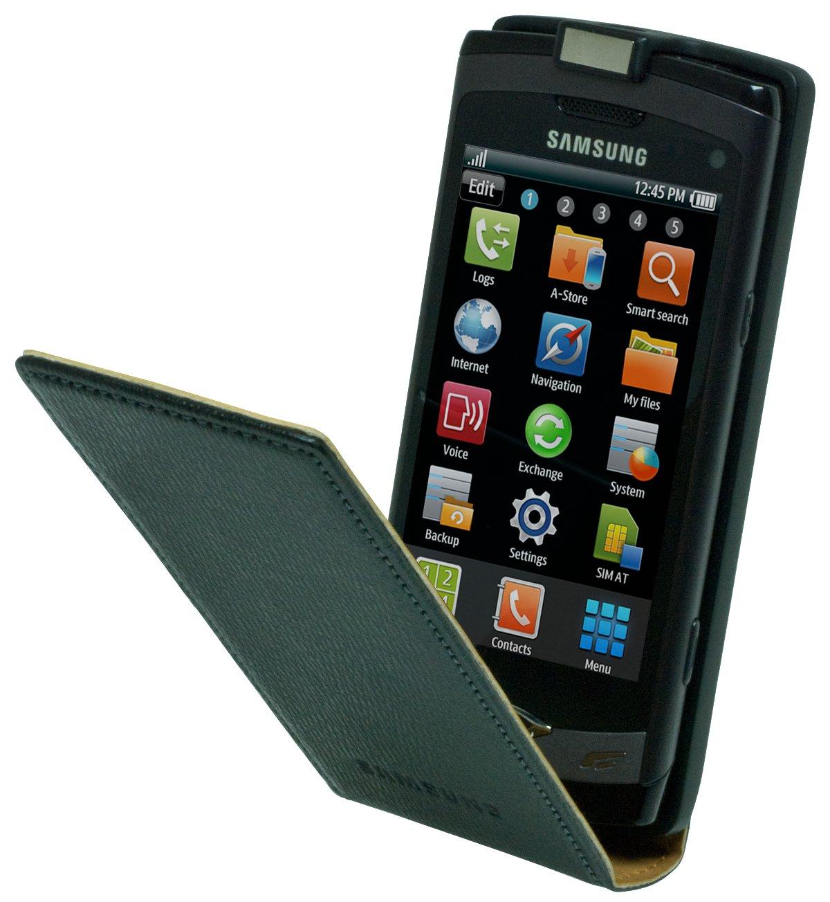 Etui cuir Samsung Wave 578