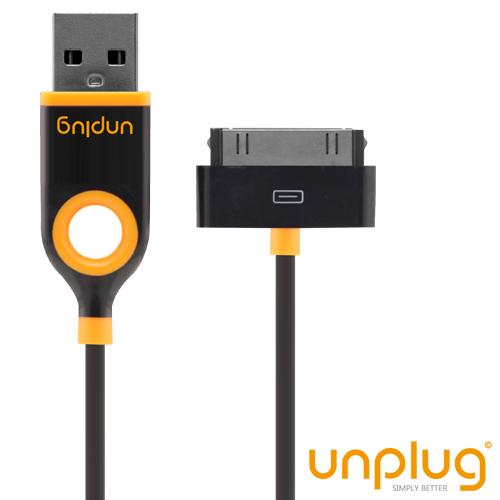 Câble Charge Noir Unplug iPhone, iPod, iPad