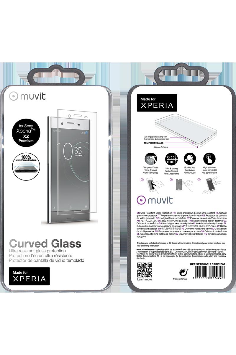 Film en verre trempé Xperia XZ Premium