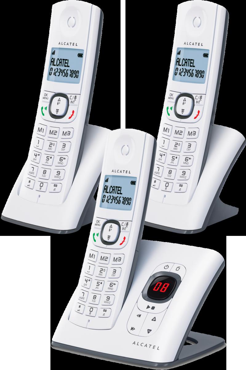 Téléphone fixe Alcatel F580 V trio - version répondeur