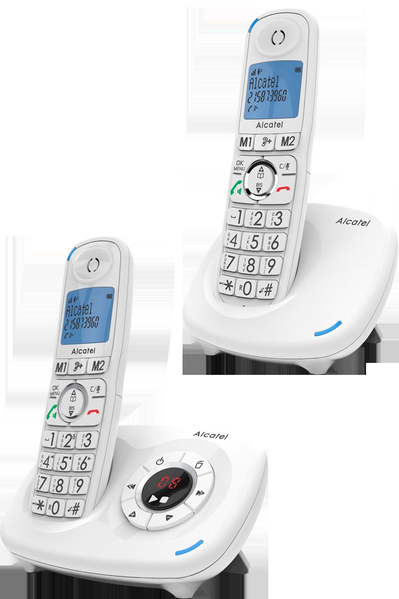 Téléphone fixe ALCATEL XL575 Voice duo avec répondeur