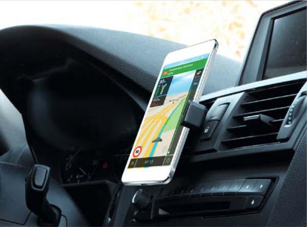 Support voiture universel pour smartphone Mobilis