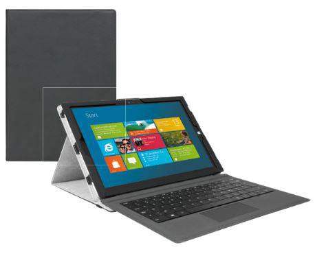Etui folio Mobilis noir pour Surface Pro 3, Surface Pro 4