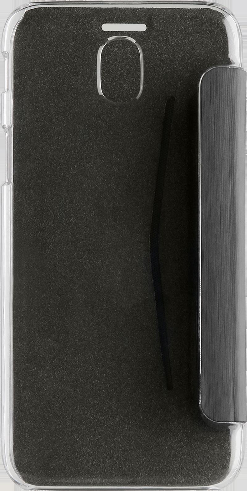 Etui folio Xqisit Galaxy J3 2017 noir