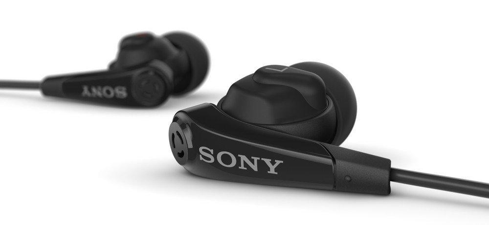 Ecouteurs Stéréo réducteurs de bruit noirs SONY