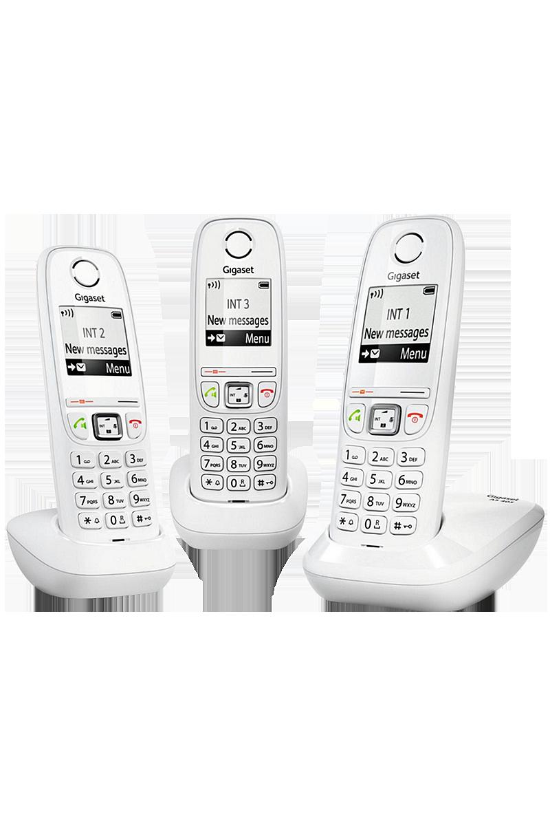 Téléphone Gigaset AS 405 trio blanc