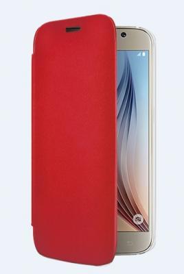Folio BBC Samsung S6 Rouge