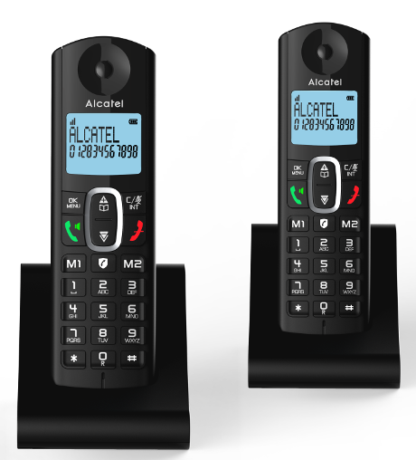 Téléphone fixe Alcatel F 685 Duo