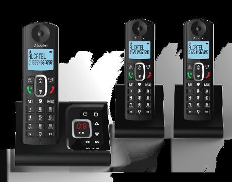 Téléphone fixe Alcatel F 685 V trio avec répondeur