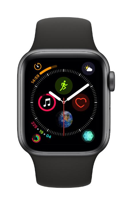 Apple Watch Series 4 4G boîtier 40mm gris sidéral 16Go