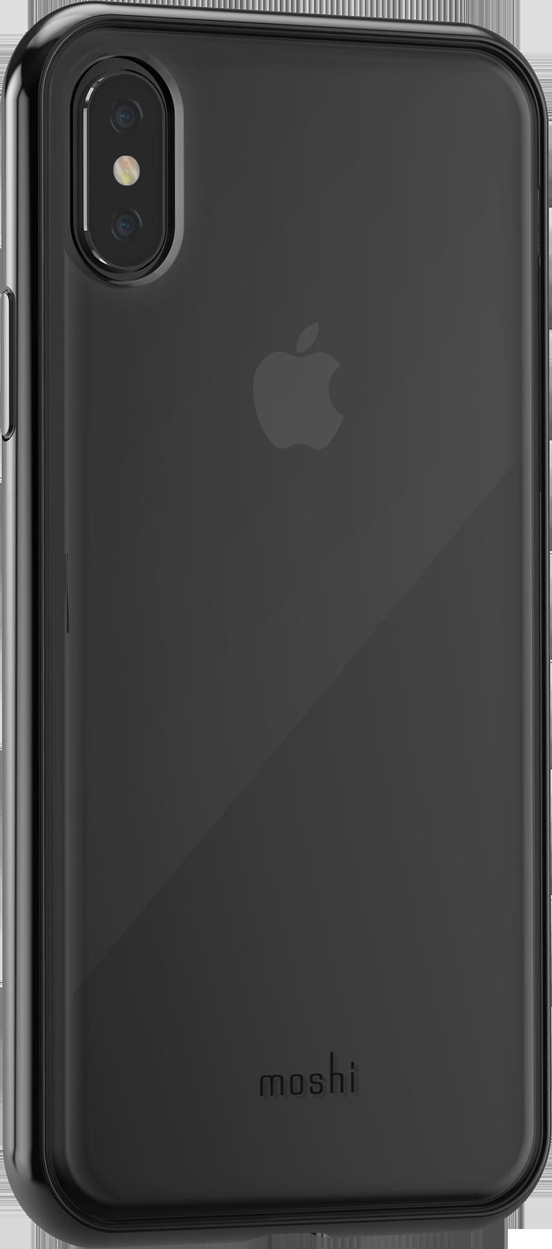 Coque vitros moshi iPhone X