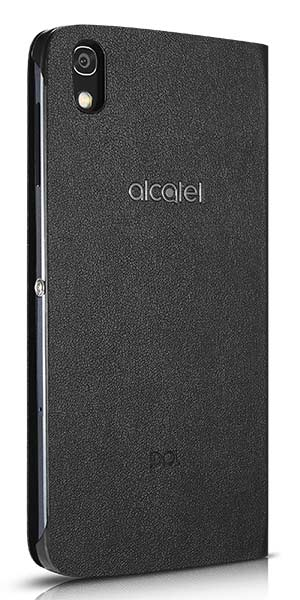 Etui à rabat Noir - Téléphone Alcatel Idol 4