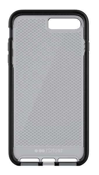 Coque EVO CHECK tech21 fumée iPhone 7 Plus, 8 Plus