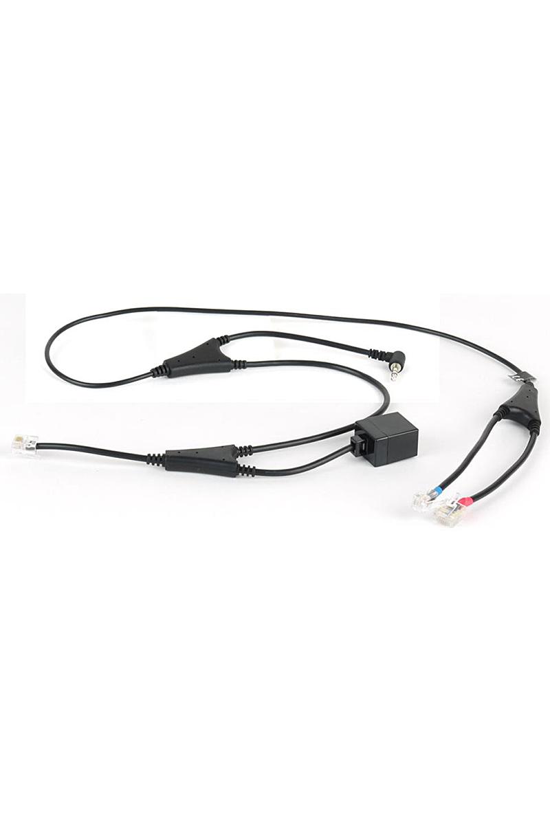 Décroché électronique pour casques Jabra et postes Alcatel ou e-diatonis