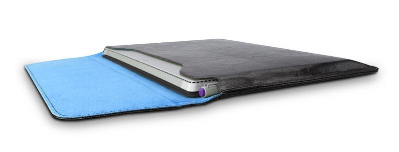 Etui cuir Maroo noir pour Surface Pro 3, Surface Pro 4