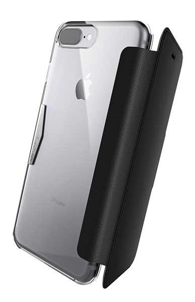 Etui folio Muvit iPhone 8/7/6s noir
