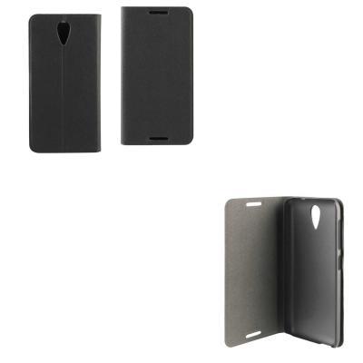 Etui folio HTC Desire 620 gris