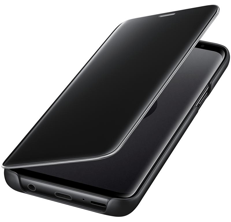 Clear View Galaxy S9 noir