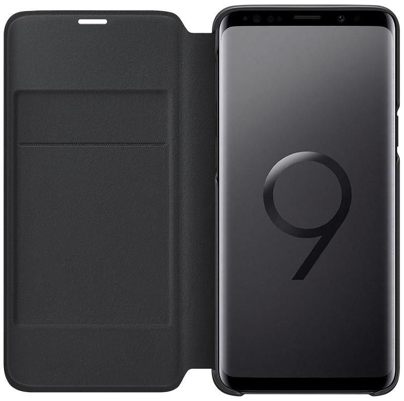 Etui Led View Galaxy S9 noir