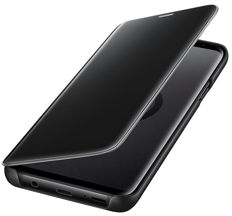 Clear View Galaxy S9 Plus noir