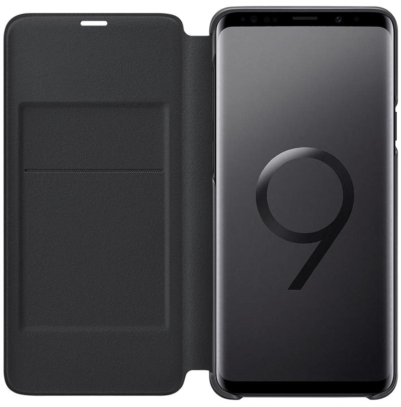Etui Led View Galaxy S9 Plus noir