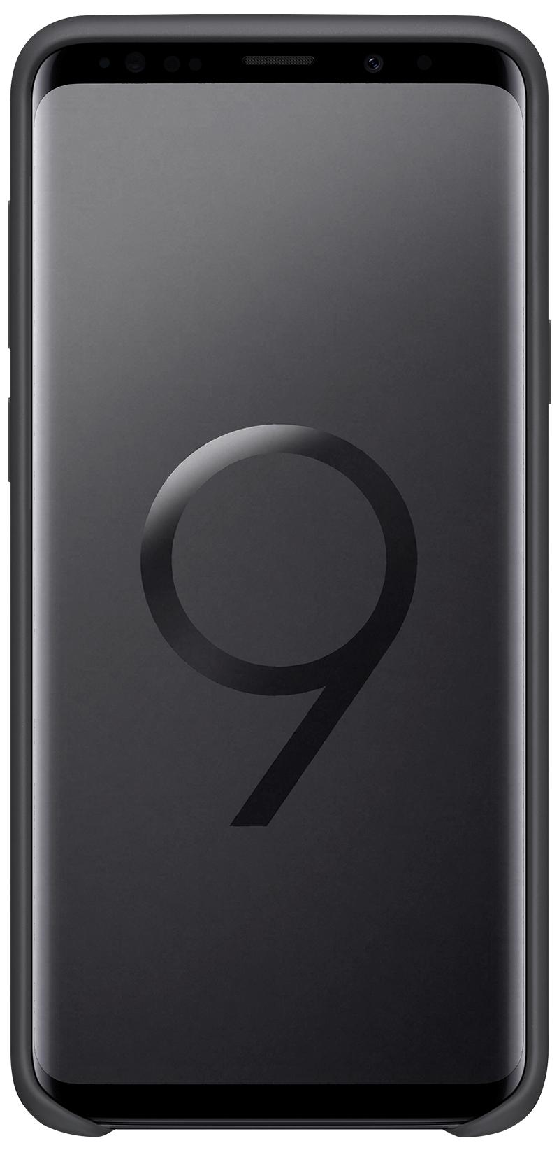 Coque Samsung silicone Galaxy S9 Plus noir