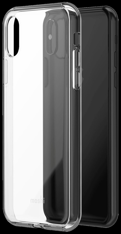 Coque vitros moshi iPhone Xs transparente
