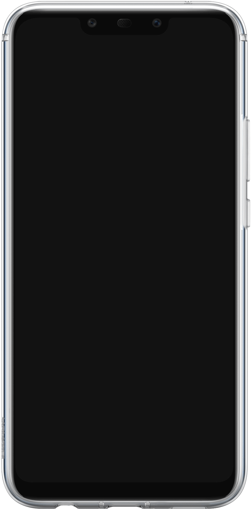 Coque Huawei Mate 20 lite transparente