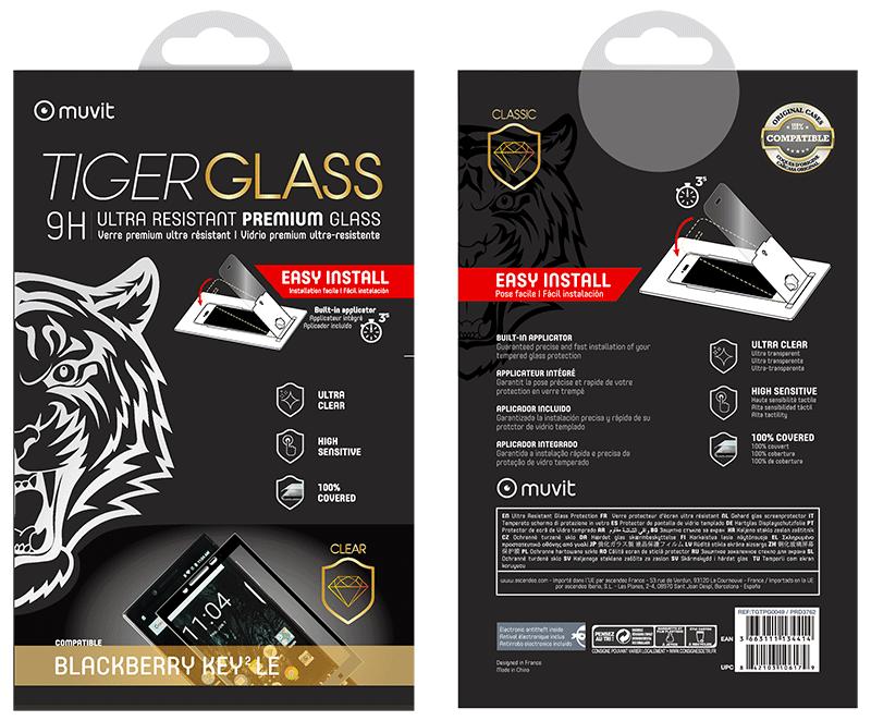 Film Tiger Glass Blackberry KEY2 LE