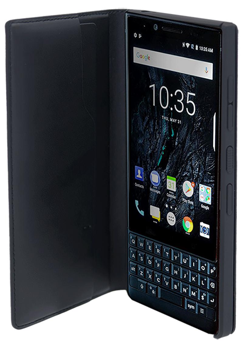 Etui folio Blackberry KEY2 LE noir