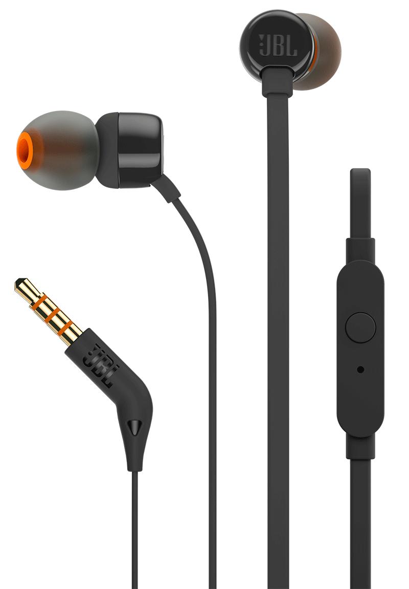 Ecouteurs intra-auriculaires JBL T110 noir