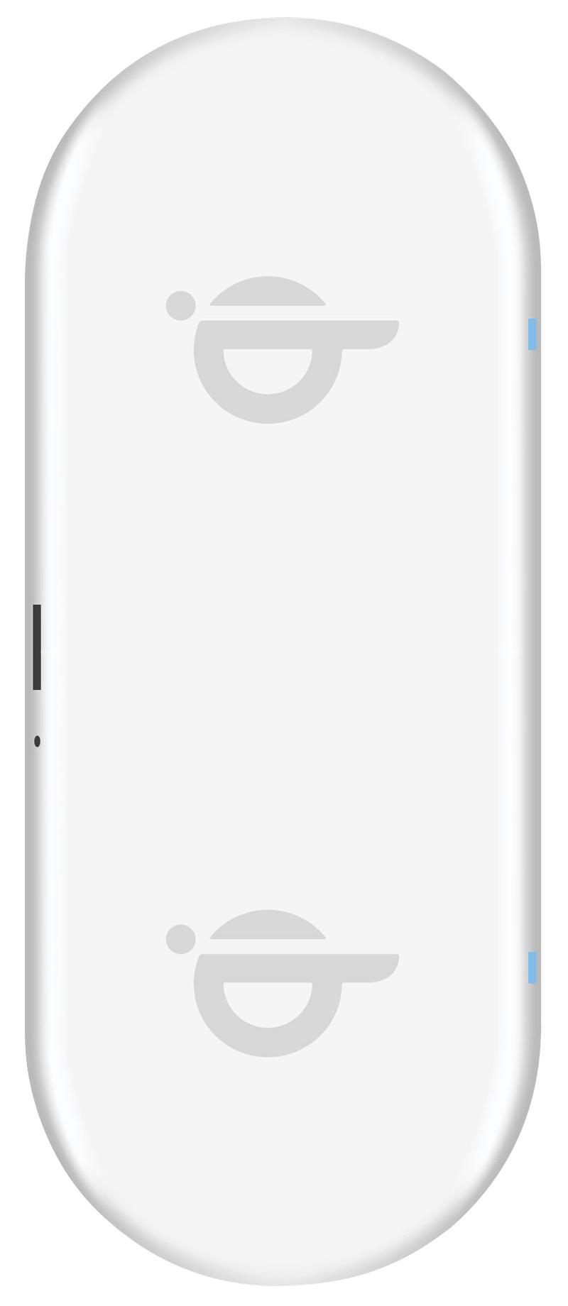 Double station de charge sans fil Qi Xqisit blanc